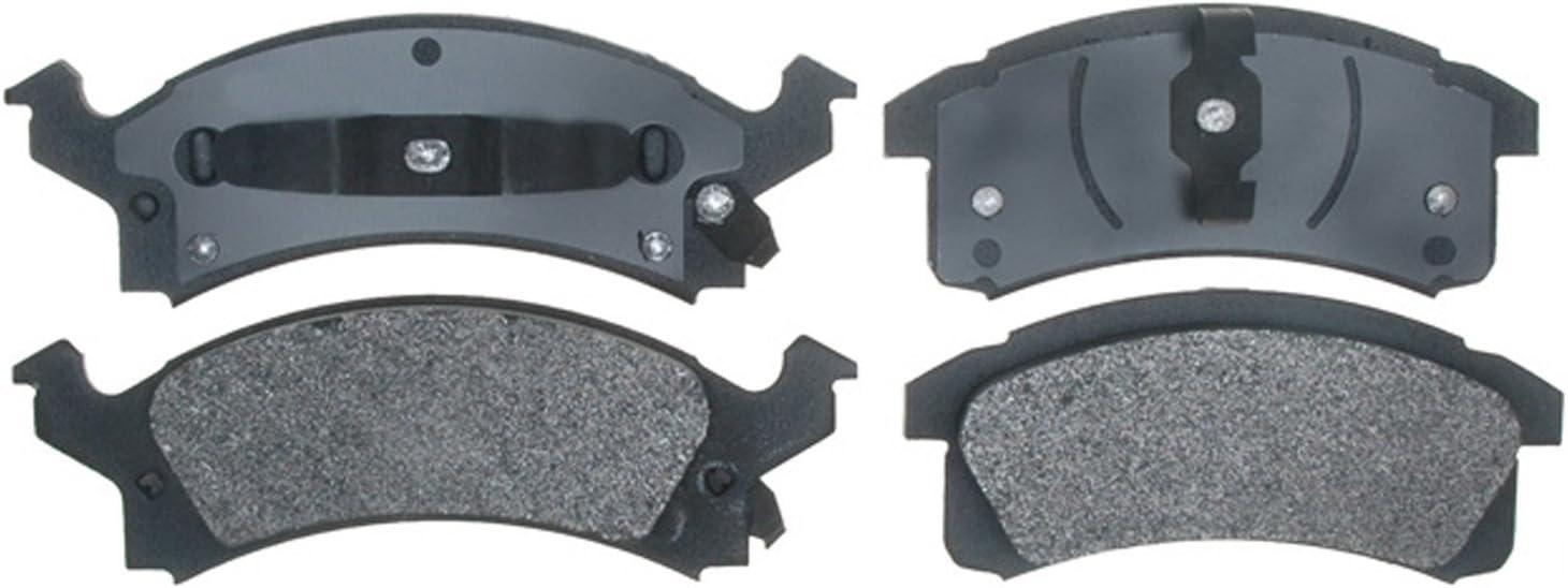 Disc Brake Pad Set-Semi Metallic Front ACDelco Pro Brakes 17D506M