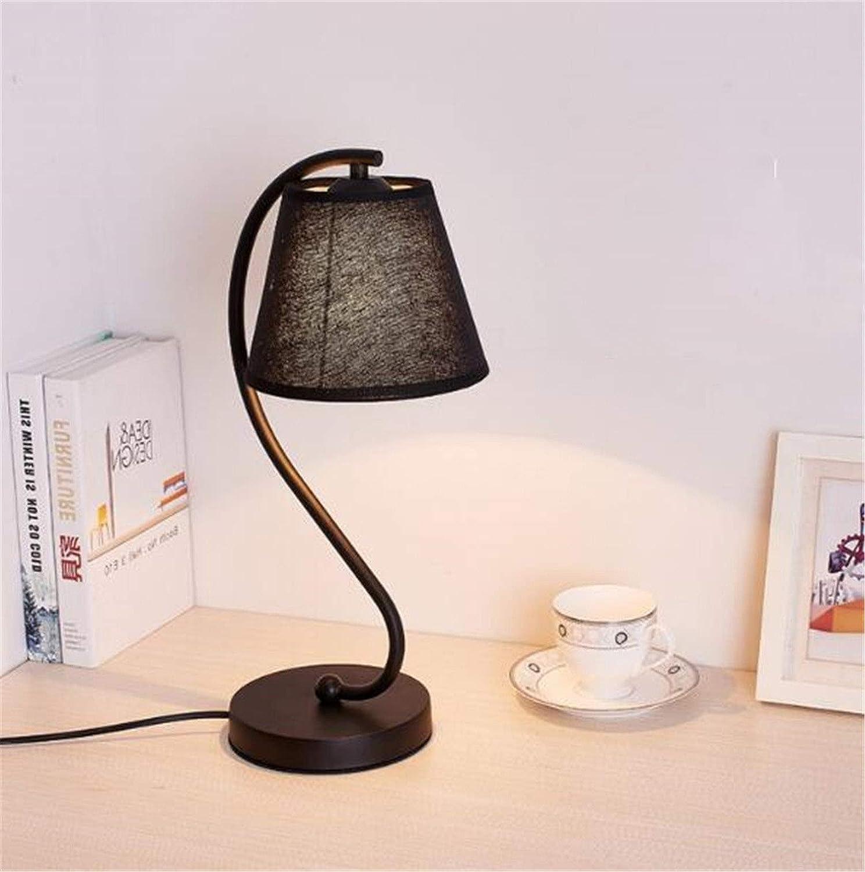 Nordic Led Dekorative Tischlampe Einfache Moderne Schreibtischarbeit Lernen Tischlampe Kreative Schlafzimmer Nachttisch Stoff Schreibtisch Lichter