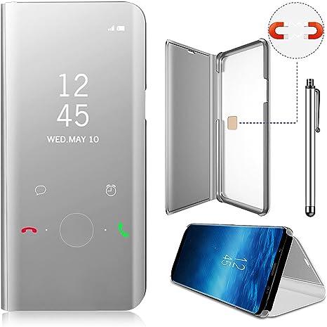 Funda Xiaomi Mi Mix 2 Inteligente Case, Vandot Fecha / Hora Clear ...