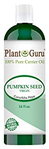 Pumpkin Seed Oil 16 oz. Virgin, Unrefined Cold Pressed 100% Pure Natural - Skin, Body And Face. Great for Aromatherapy & More!