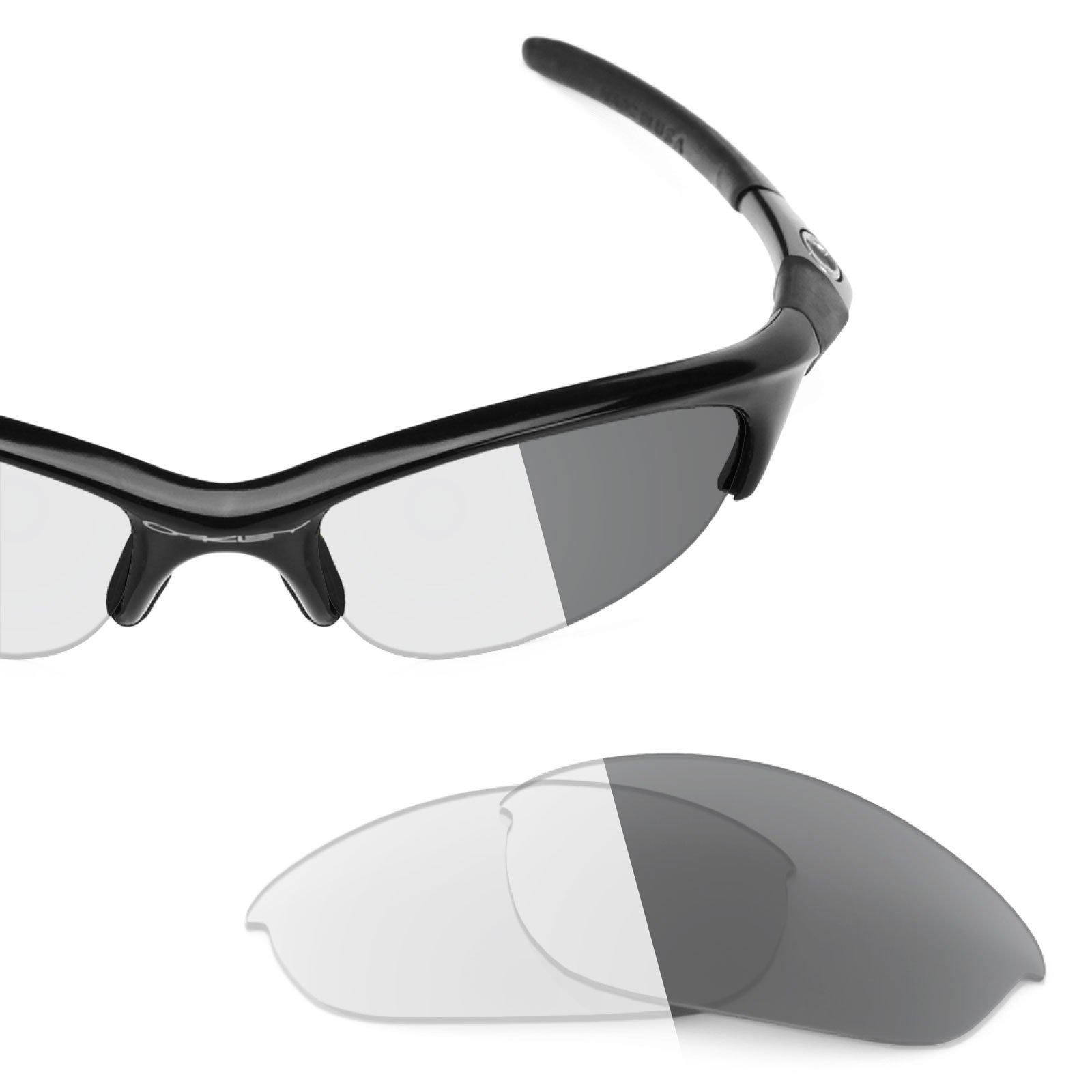 Revant Replacement Lenses Oakley Half Jacket Elite Adapt Grey Photochromic