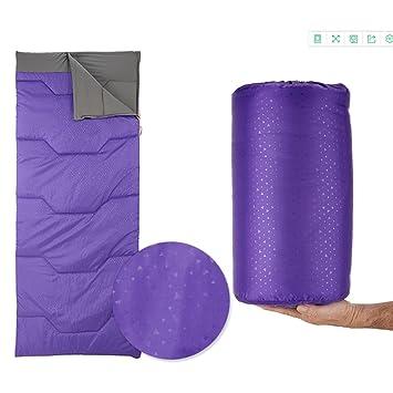 Sleepling bag CAICOLOR Saco de dormir ultraligero, saco de dormir compacto de senderismo, puertas