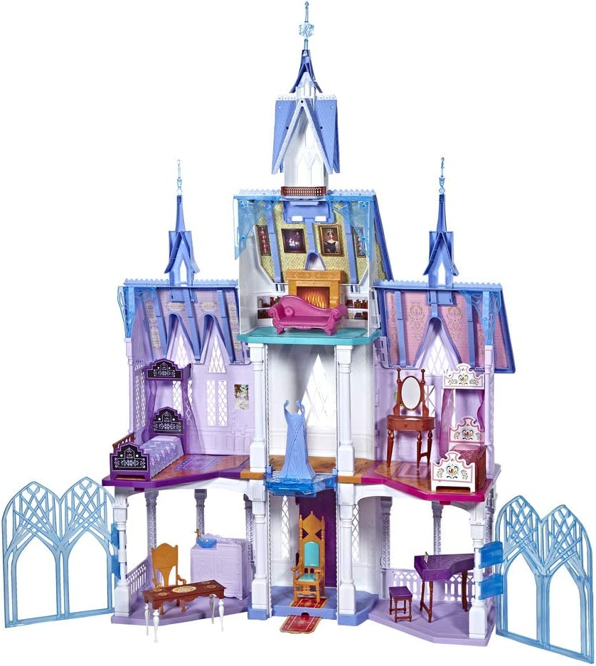 5ft Tall NEW Disney Frozen 2 Ultimate Arendelle Castle Dolls House Playset Toy