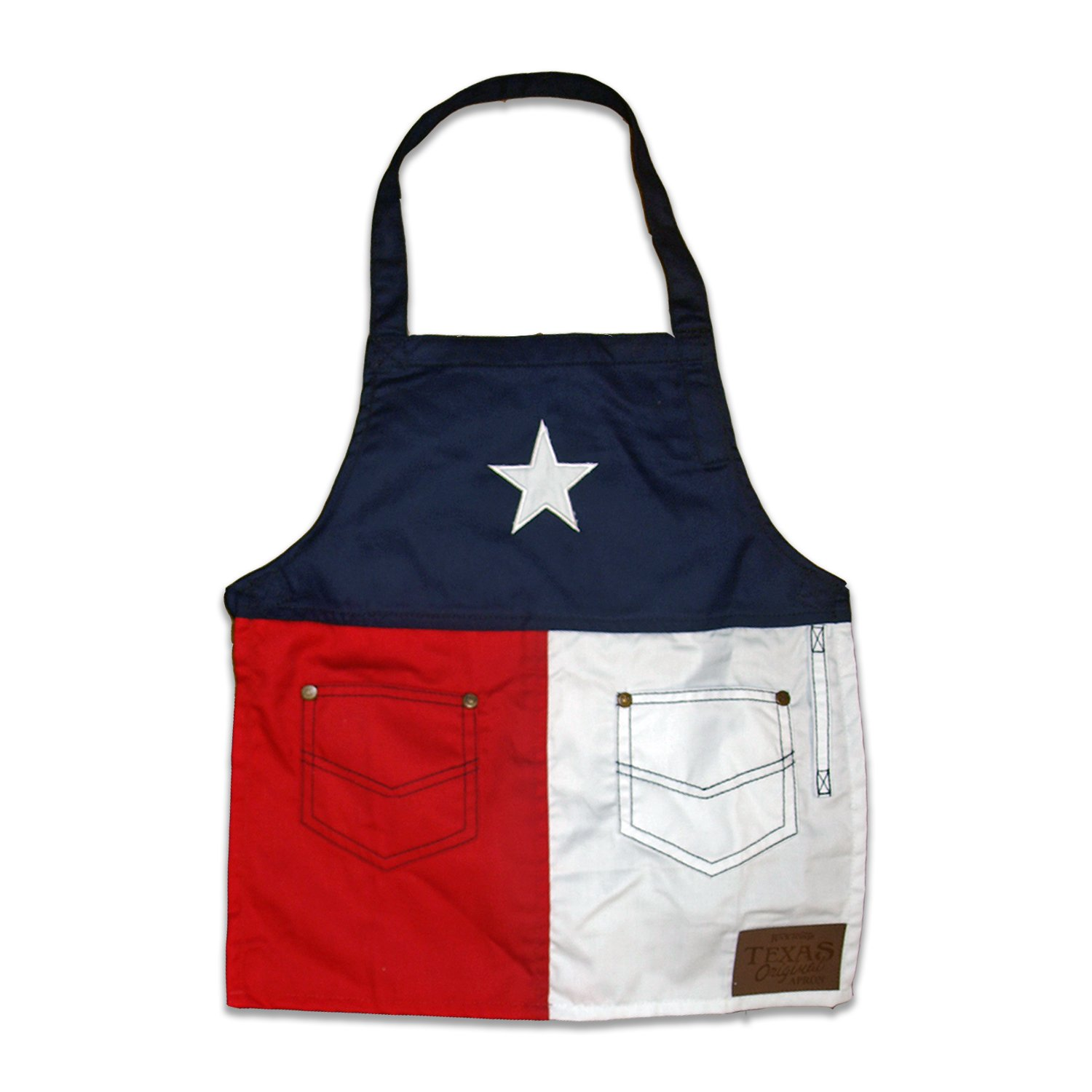 Rock Point Apparel RP041 Boys Texas Apron Kids, One Size, Red, White and Blue