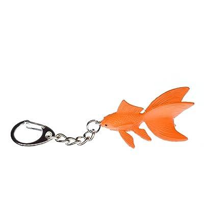 Miniblings koi offrir porte-clés en forme de poisson orange