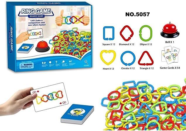 Lecc Juguetes Educativos para Niños, 10 Juegos De Mesa para Niños, Mejorar La Observación, Atención, Juguetes Educativos, Juegos Divertidos,NO.5057: Amazon.es: Hogar