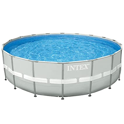 Amazon.com : Intex 16Ft X 48In Ultra Frame Pool Set with Cartridge ...