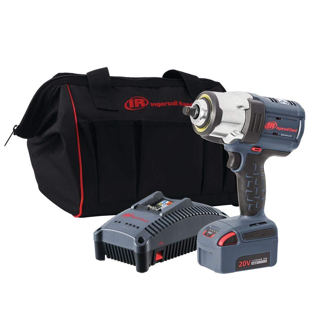 Ingersoll Rand 1/2'' 20V Cordless Impact, 1 Battery Kit, W7152-K12, (1) Battery Kit