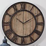 Uttermost 06344 Powell Wooden Wall Clock Review