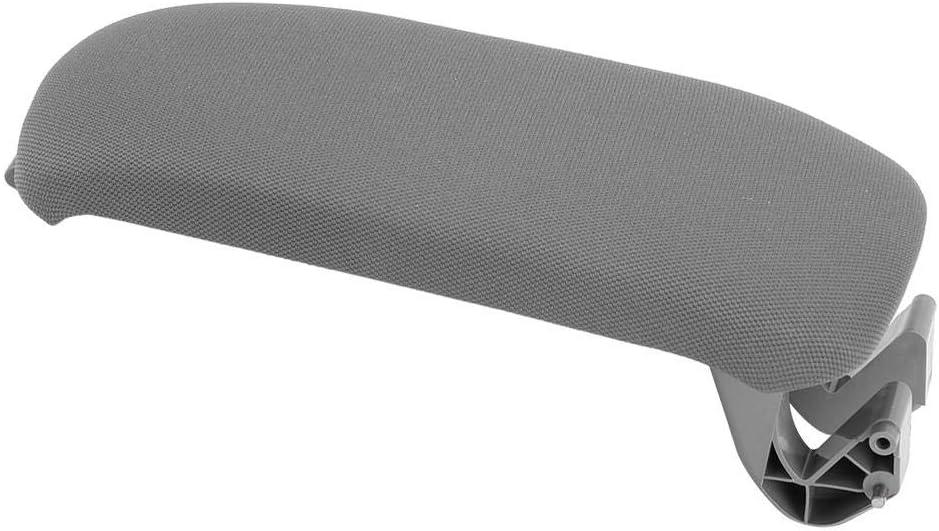 Copertura Coperchio Console bracciolo Centrale in Pelle in Microfibra per Audi A3 8P 03-12 8P0864245P8E1 Giallo Broco Console Coperchio Coperchio bracciolo Auto