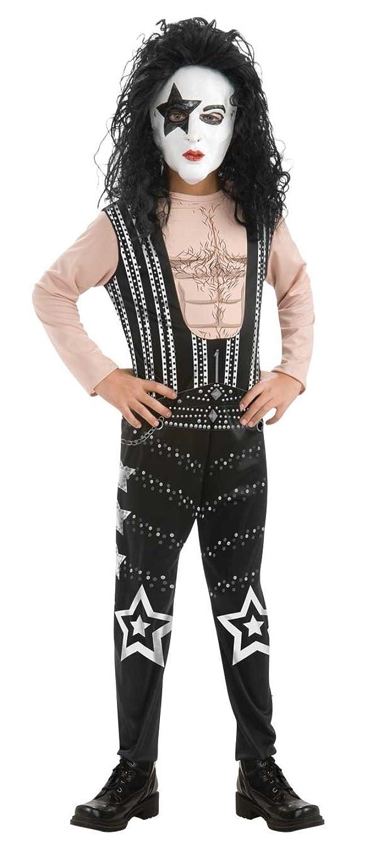 amazon com rubies boys kiss 80s rock star child costume large