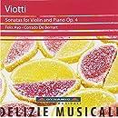 Viotti: Sonatas for Violin & Piano Op. 4