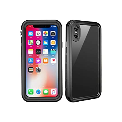 Amazon.com: plior carcasa impermeable para iPhone X Full ...