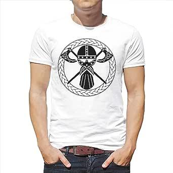 Camiseta para hombre con diseño celta y círculo, estampado