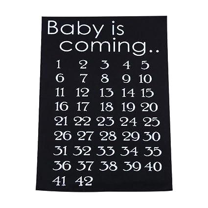Calendario Maternita.Sensecrol Adesivi Gravidanza Maternita Madre Gravidanza