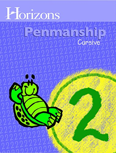 Horizons Penmanship 2 Student Book (Lifepac)