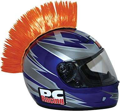 PCRACING HELMET MOHAWK YELLOW