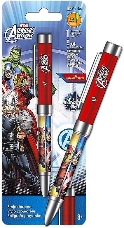 Bolígrafo proyector de Marvel Avengers ~ Los Vengadores Infinity ...