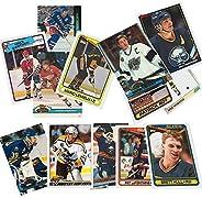 40 Hockey Hall-of-Fame and Superstar Cards Collection Including Mario Lemieux, Wayne Gretzky, Jaromir Jagr, Ra
