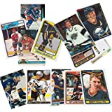 40 Hockey Hall-of-Fame and Superstar Cards Collection Including Mario Lemieux, Wayne Gretzky, Jaromir Jagr, Ray Bourque…