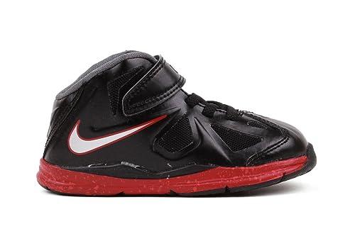 sports shoes cda8a e9ec2 NIKE New Boys Tanjun BR Sneaker Black White 3.5