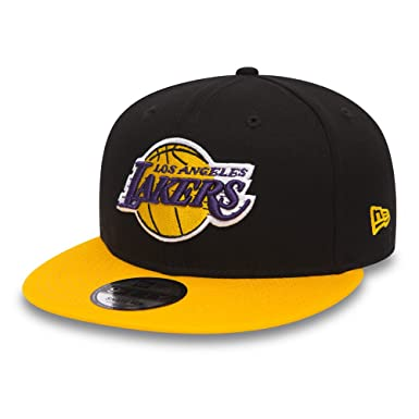 Gorro Snapback New Era 9Fifty Black Base Los Angeles Lakers Team Colour (S/M