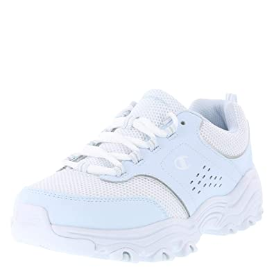 f0b9ef268 Champion Light Blue White Women s Margaret Runner 5 Wide