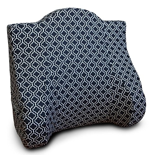 Back Buddy Deluxe Maternity Pillow for Nursing Breastfeeding Postpartum and Back Support Helps Relieve Lower Back Pain - Cotton Nina