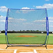 FORTRESS Portable Square Screen – Ultimate Baseball Protector Screen   1st Base Protection Screen [Net World S