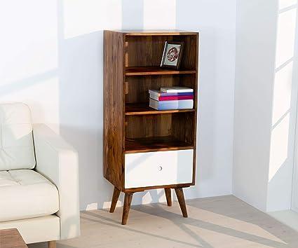 AISER Royal Massives Echt Holz Palisander Bücher Regal