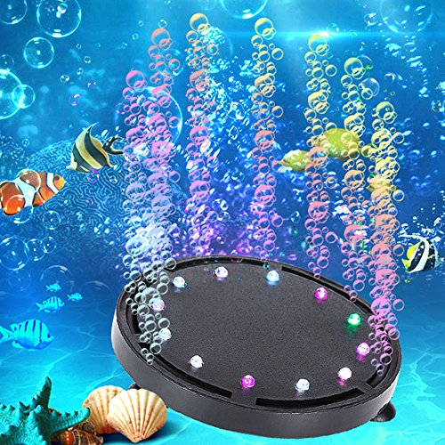 Led Submersible Light Disc Rgb in US - 8