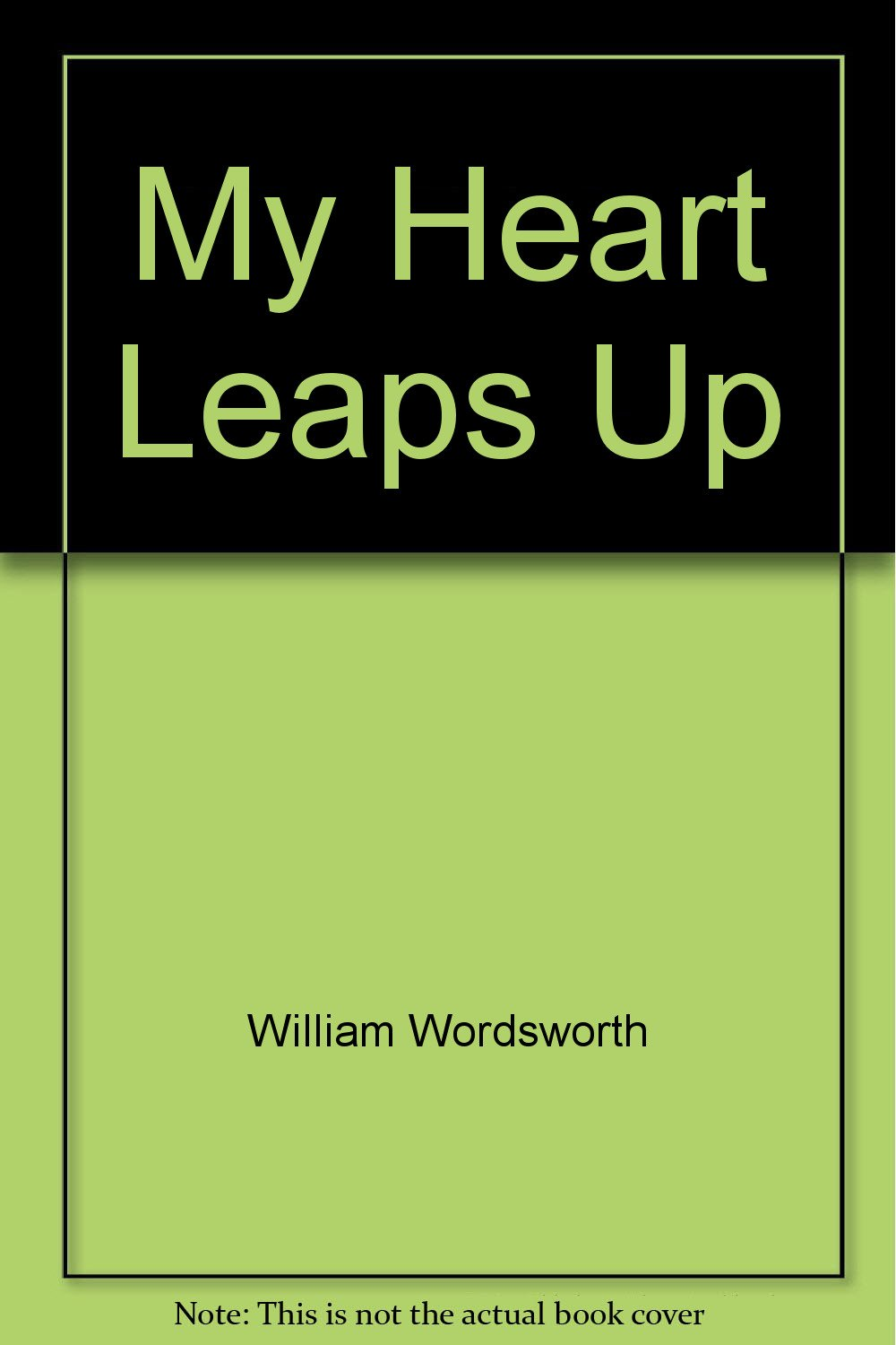 My Heart Leaps Up And Other Poems William Wordsworth