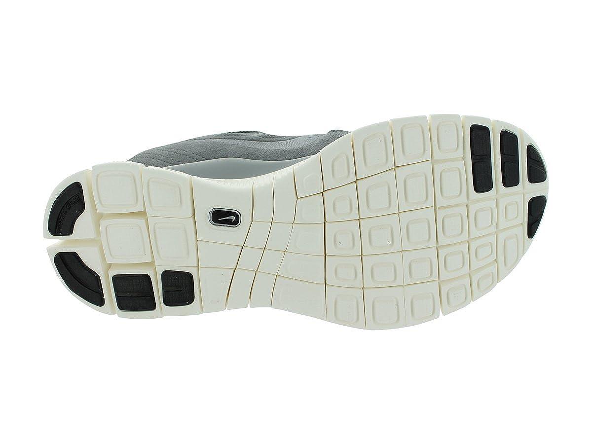 Nike Free 5.0 Ext Herren Grau Wildleder Laufschuhe Größe Neu