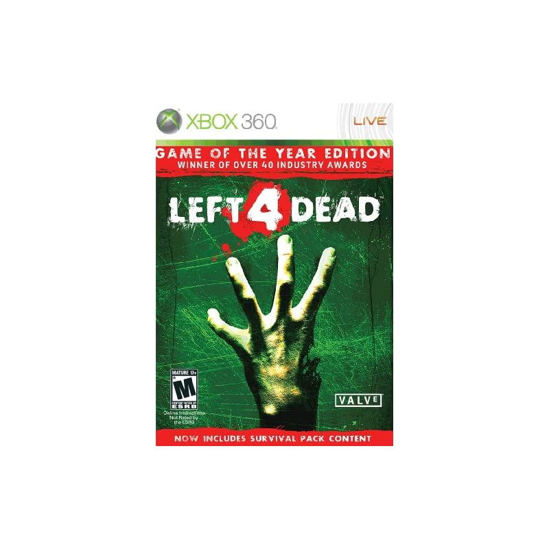Left 4 Dead - Game of the Year Edition -Xbox 360