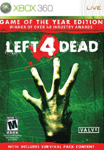 Left 4 Dead - Game of the Year Edition -Xbox 360 (Best 4 Player Co Op Games Xbox 360)