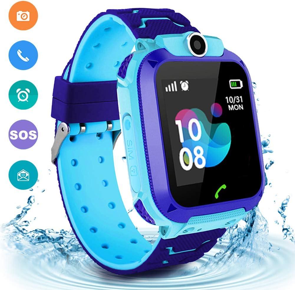 Amazon.com: Kids Waterproof Smart Watch Phone, LBS/GPS ...