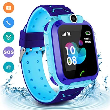 Amazon.com: Kids Waterproof Smart Watch Phone, LBS/GPS ...