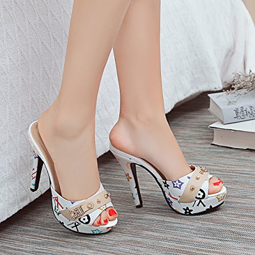 Mules Femme JYshoes Weiß JYshoes Mules Femme Mules Mules Weiß JYshoes Femme Weiß JYshoes qBWSTpvB