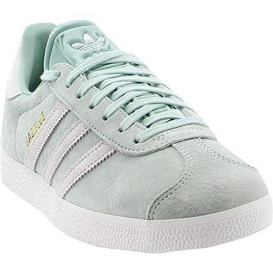 2a9ff7cd69f7fe adidas Womens Gazelle Casual Athletic   Sneakers Green