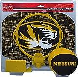 NCAA Missouri Tigers Kids Slam Dunk Hoop Set, Black, Small
