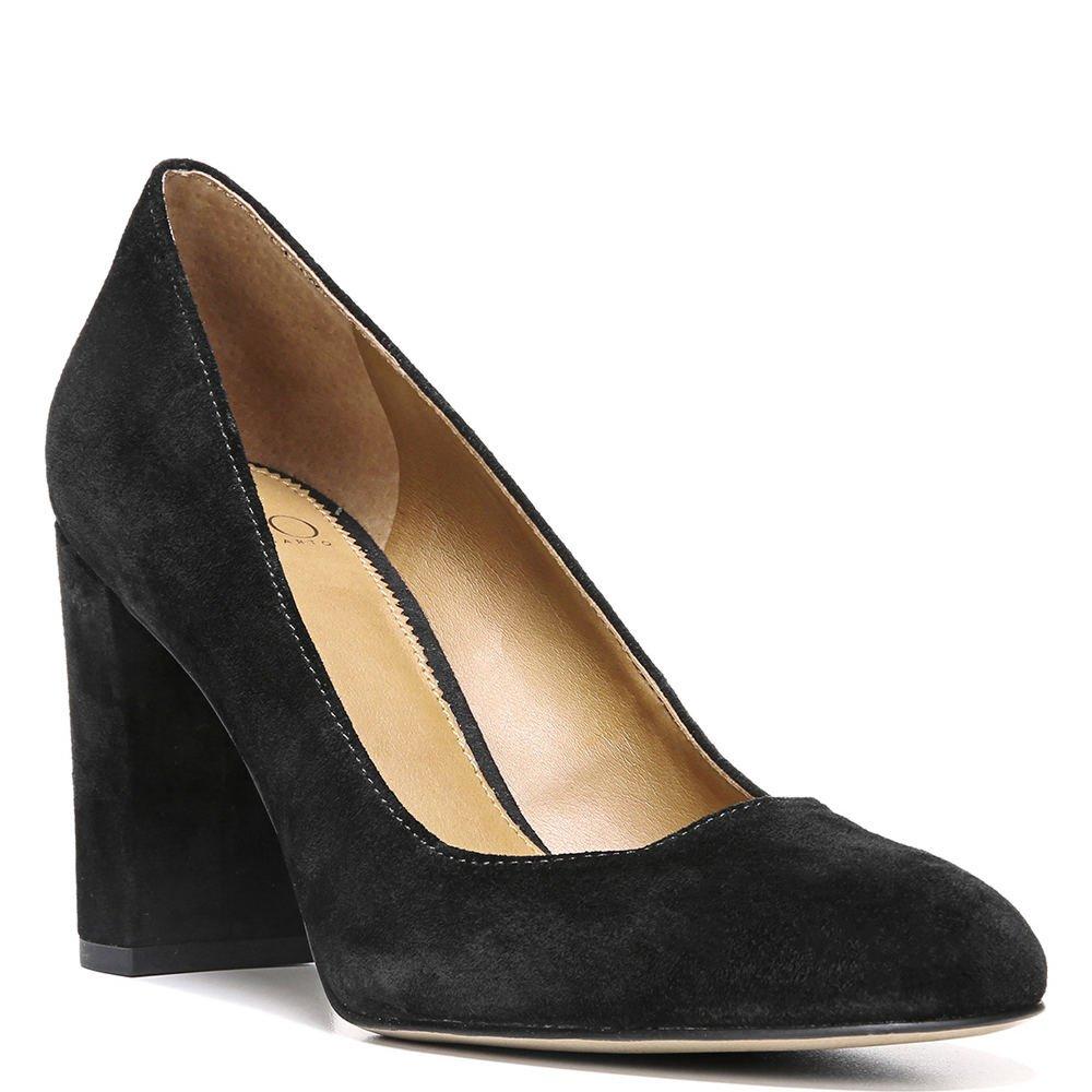 abd28cb9511 Franco Sarto Womens Aziza Suede Covered Heel Block Heels  Amazon.ca  Shoes    Handbags