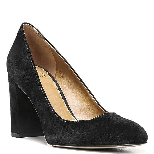 b0a1d214c4 Franco Sarto Womens Aziza Suede Covered Heel Block Heels: Amazon.ca: Shoes  & Handbags