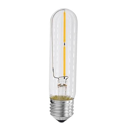 Ecopower hogar LED bombilla de filamento, mklot 110 V E27 2 W candelabro luz bombilla