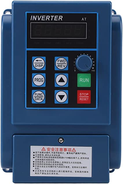 AC 380V 1.5kW 4A Frequenza Variabile Inverter VFD Trifase controllore motore