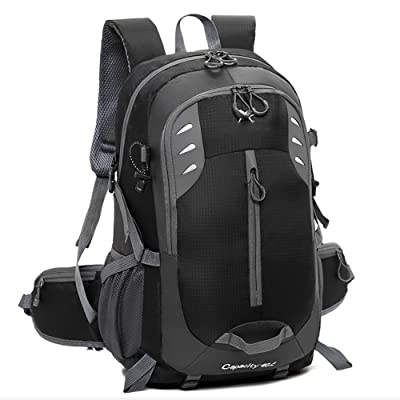 Travel Backpack,Laptop Computer Bag for Women&Men, Water Resistant College School Bookbag,Outdoor Sport Daypack,Hiking Backpack for Climbing Camping Mountaineering well-wreapped