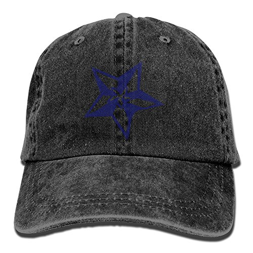 Moshiwenq Stars Graphic Art Adult Cowboy Hat For Men Girl Unisex With Desultoriness The Classic Without (Breathing Tube Assembly)