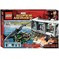 LEGO® Marvel Super Heroes® Iron Man Malibu Mansion Attack w/ Minifigures | 76007