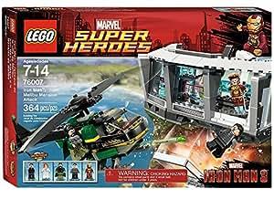 LEGO® Marvel Super Heroes® Iron Man Malibu Mansion Attack w/ Minifigures | 76007