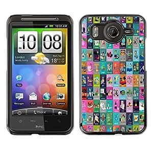 Dragon Case - FOR HTC G10 - there is no life - Caja protectora de pl??stico duro de la cubierta Dise?¡Ào Slim Fit