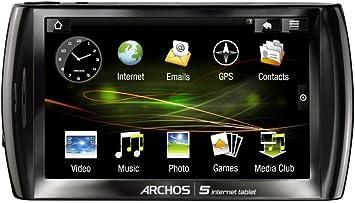 Amazon.com: Archos 5 Internet Tablet con Android Negro: Home ...